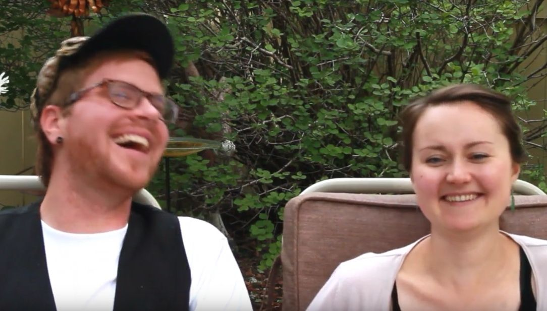 See Jason and Pirita's video for more laughter!