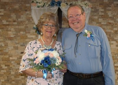 Senior Christian woman marries her love