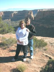 Christian couple at the Grand Canyon