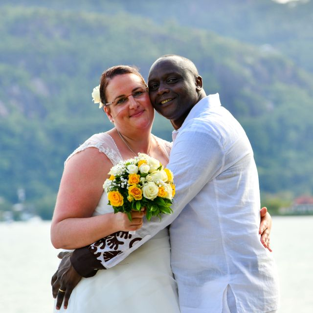 Susanne and Patrick happily married their soulmate!