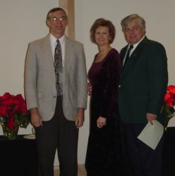 Christmas wedding for seniors who stand with their pastor