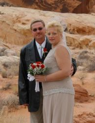 Christian couple wed in Valley of Fire state park