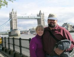 Tower Bridge vacation for Christian couple