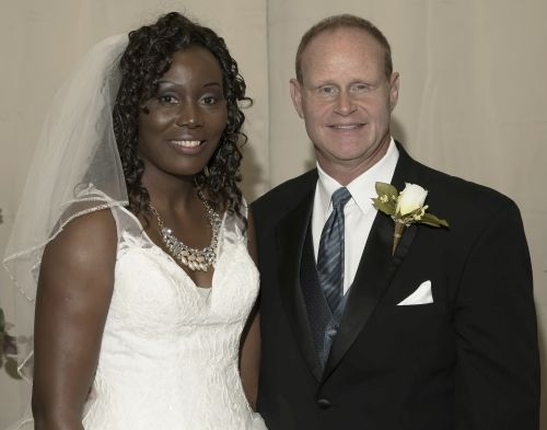 Texas Christian single woman at her wedding to Christian man from North Carolina