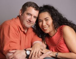 California Christian man engaged to Filipina woman who shows off her ring