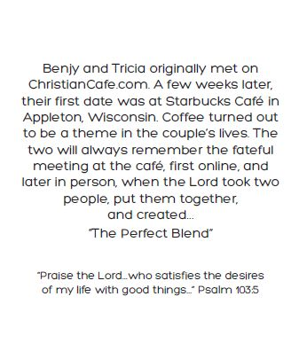 A scan of their story of how they met via ChristianCafe.com