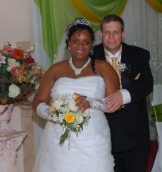 Veron and Merlin married in September in Jamaica