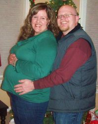 Wende and Adam are expecting their first Cafe Baby