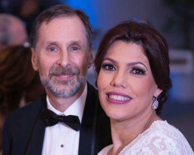 Beautiful Whanda with her husband Stan